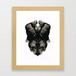 Rorschach Fantasy 5 Framed Art Print