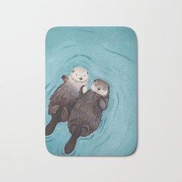 Otterly Romantic Sea Bath Mat