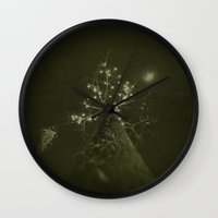 tim burton Wall Clocks featuring burton by n8 bucher