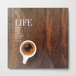 Coffe Art Metal Print