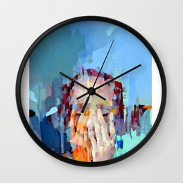 When silence happens on the marketplace Wall Clock