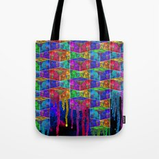 Splatter Box Tote Bag
