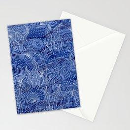 Coral Reef - Indigo Stationery Cards