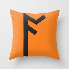 Showtasting - Rune 5 Throw Pillow