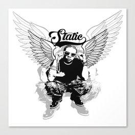 Static the Mogul Canvas Print