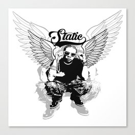 Static the Mogul Canvas Print
