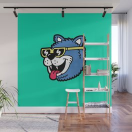 Cool Bear (portrait) Wall Mural