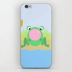 Bubbles by the lake iPhone & iPod Skin
