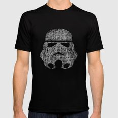 Lines of Trooper Mens Fitted Tee Black LARGE