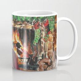 A Cozy Christmas Couple Coffee Mug