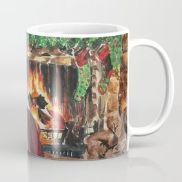 A Cozy Christmas Couple Coffee Mug