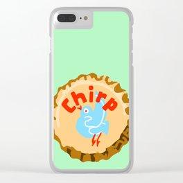 Chirp bottle cap lefty Clear iPhone Case