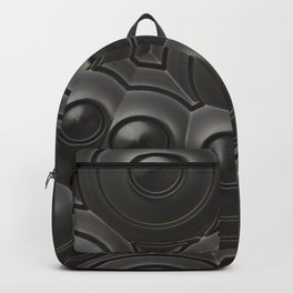 Black Circles Backpack