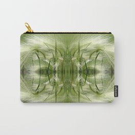 Hordeum Jubatum Abstract Carry-All Pouch