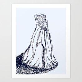 Dressed Up Art Print