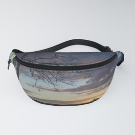Lake Quinault Sunset, Washington Fanny Pack