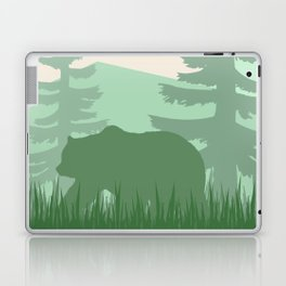 Bear in the Forest Laptop & iPad Skin