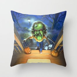 The Haunted Mask II Throw Pillow