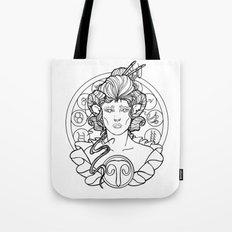 Zodiac Series   Aries Tote Bag