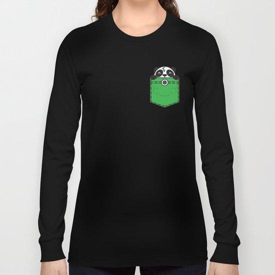 Pocket Panda Long Sleeve T-shirt