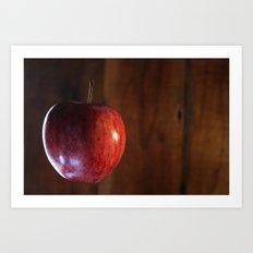 The Apple floats again Art Print