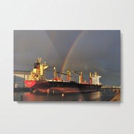 Cargo Fleet Metal Print