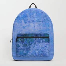 Blue Mosaic Backpack