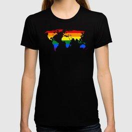 LGBT World Map T-shirt