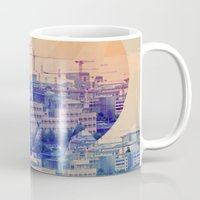 berlin Mugs featuring berlin by Marco Puccini