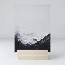 Snowy Mountain in El Calafate Mini Art Print