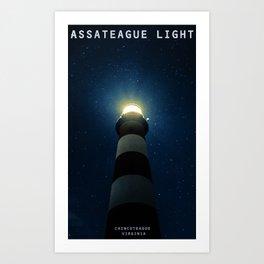 Chincoteague Island - Virginia. Art Print