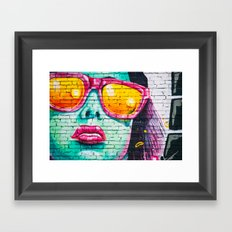 Street Superstar Framed Art Print