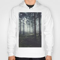 sunset Hoodies featuring Through The Trees by Tordis Kayma