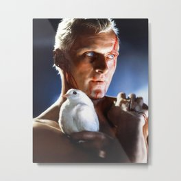Blade Runner - Roy Batty Metal Print