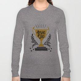 Love Wins Long Sleeve T-shirt