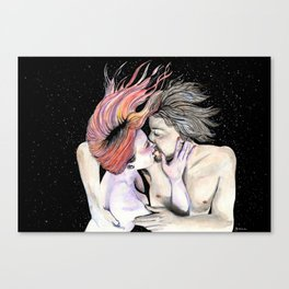 No Gravity When I'm With You Canvas Print