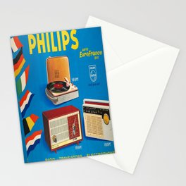 Retro Placard philips philips Stationery Cards