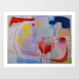 What I Meant to Say Art Print