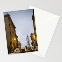 Stockholm streets Stationery Cards