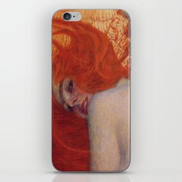 Gustav Klimt, Goldfish, (detail) 1901-1902 iPhone Skin
