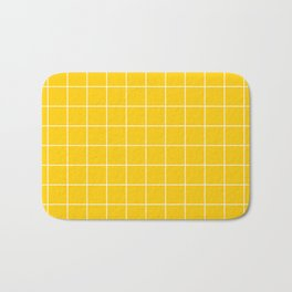Sunshine Grid Bath Mat