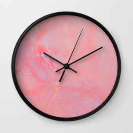 Summer Marble Wall Clock
