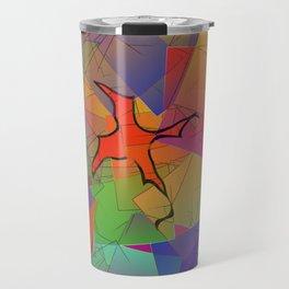 2506 Little cubistic phoenix ... Travel Mug