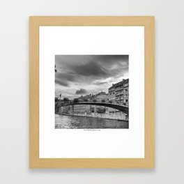 Le Pont Framed Art Print