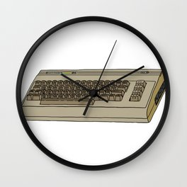 Commodore 64 Retro Computer Wall Clock