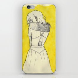 Self in Yellow iPhone Skin