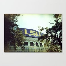 Tiger Stadium Canvas Print