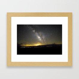 Leo Lactea X Framed Art Print