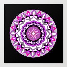 My Love Mandhala | Secret Geometry | Energy Symbols Canvas Print