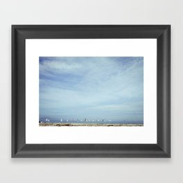 Sail Boats Framed Art Print